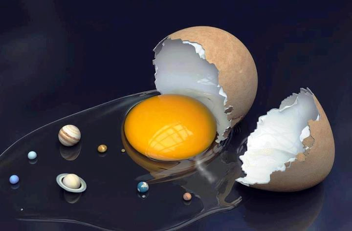 The Solar System Hatched