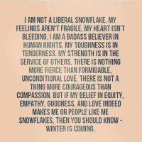 I'm a Badass Snowflake.