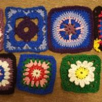 Week Two of the Granny Squares.