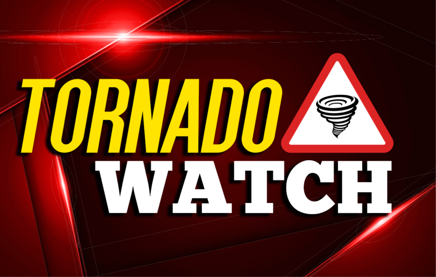 Tornado watch sign